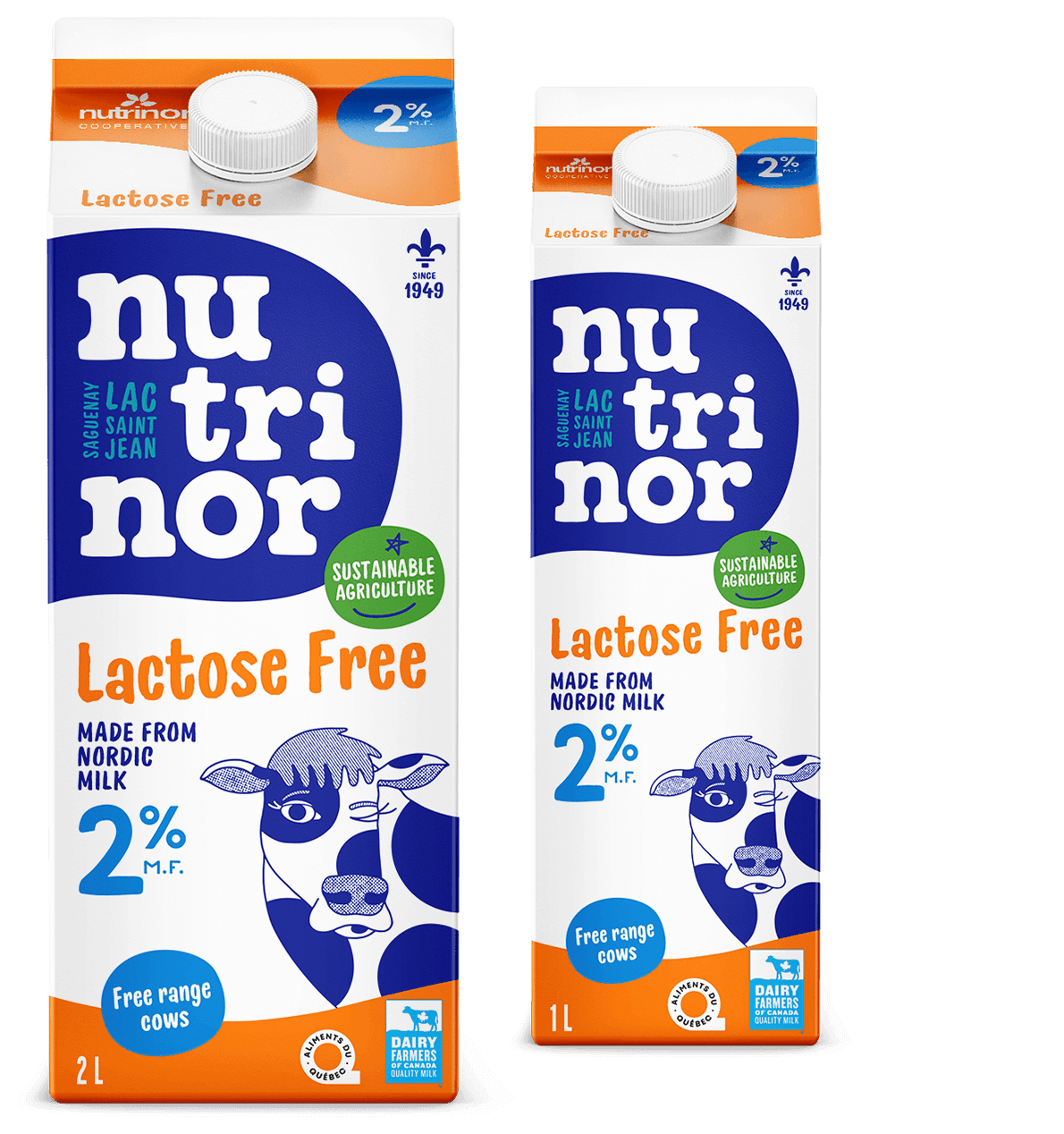 Lactose free milk products